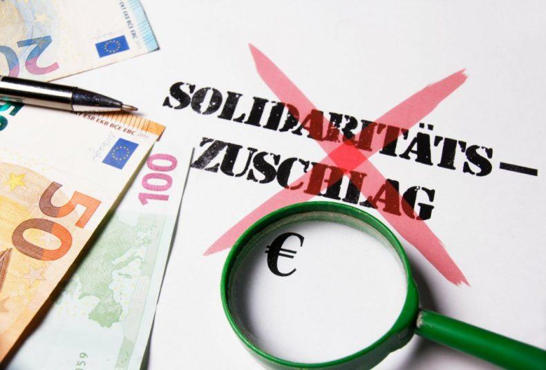 Änderungen beim Solidaritätszuschlag ab 2021